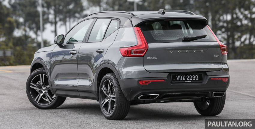 FIRST DRIVE: 2018 Volvo XC40 T5 AWD R-Design Image #902237
