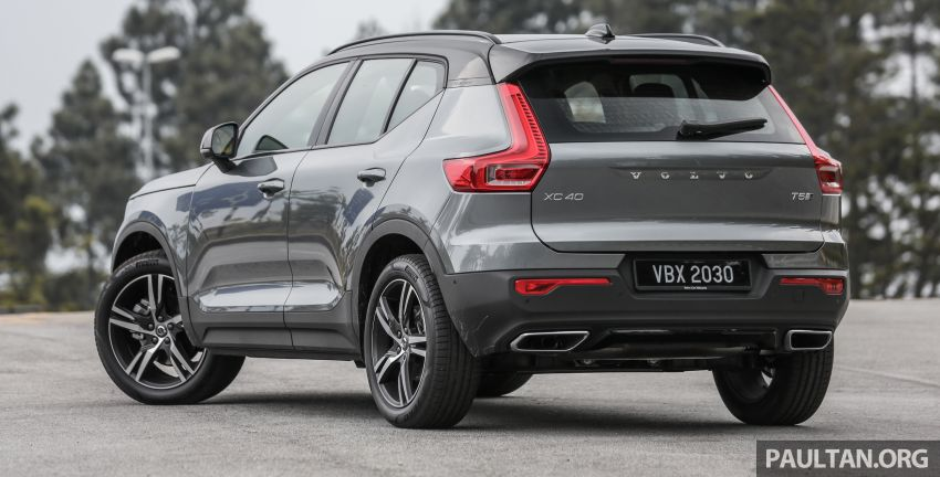 FIRST DRIVE: 2018 Volvo XC40 T5 AWD R-Design Image #902238