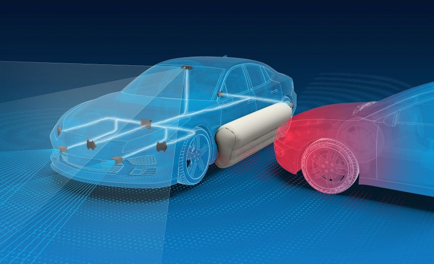 ZF showcases pre-crash exterior airbags – claims reduced occupant injury severity by up to 40% Image #902026
