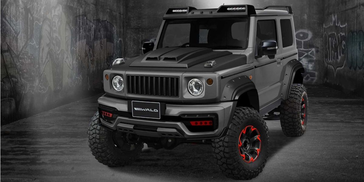 Local Market Tool >> Suzuki Jimny Black Bison Edition revealed by Wald