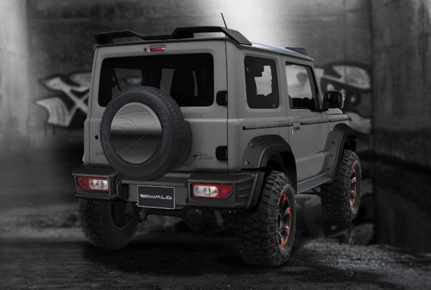 Suzuki Jimny Black Bison Edition revealed by Wald Image #905637