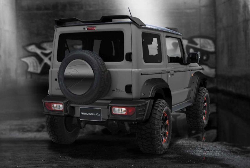 Suzuki Jimny Black Bison Edition dihasilkan oleh Wald Image #905657