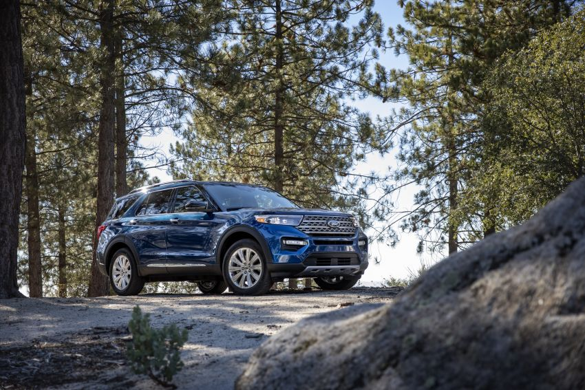 2020 Ford Explorer unveiled – rear-wheel drive,  365 hp 3.0 litre biturbo V6, hot ST version coming soon Image #908629