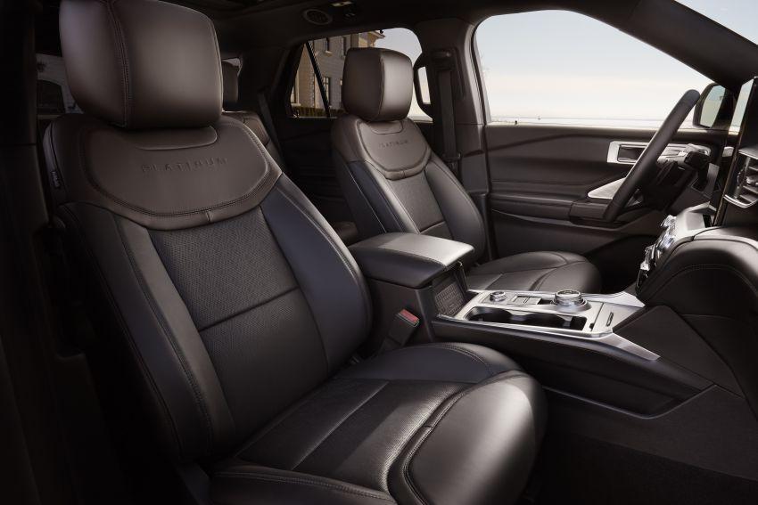 Ford Explorer 2020 didedah – pacuan roda belakang, 365 hp 3.0 liter biturbo V6, versi ST akan datang Image #908914
