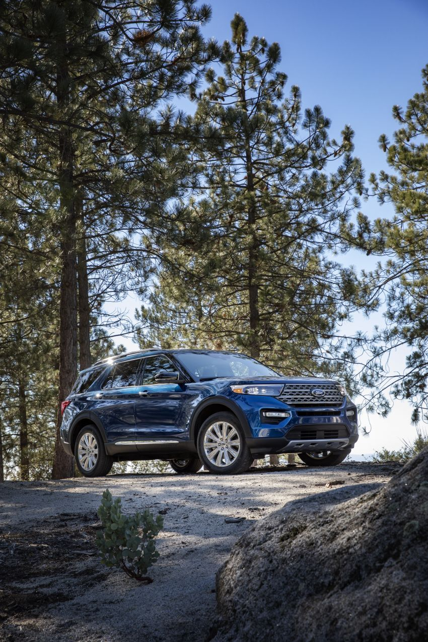 Ford Explorer 2020 didedah – pacuan roda belakang, 365 hp 3.0 liter biturbo V6, versi ST akan datang Image #908904