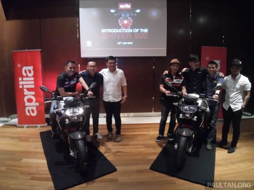 2019 Aprilia Shiver 900 now in Malaysia – RM72,000 Image #917836