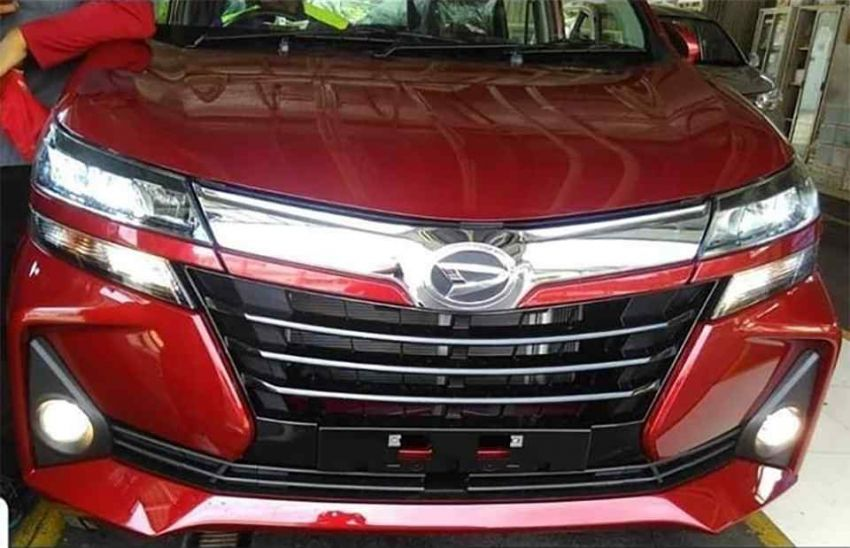 2019 Toyota Avanza facelift gets revealed before debut Image #907222