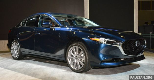 2019 Mazda 3 Gets Previewed At Singapore Motor Show
