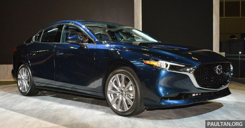 2019 Mazda 3 gets previewed at Singapore Motor Show Image #908762