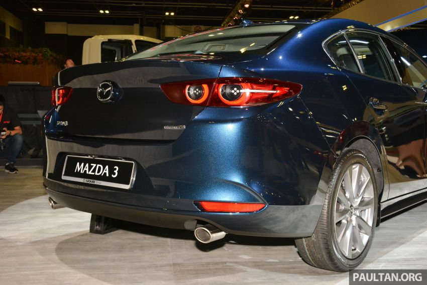 2019 Mazda 3 gets previewed at Singapore Motor Show Image #908771