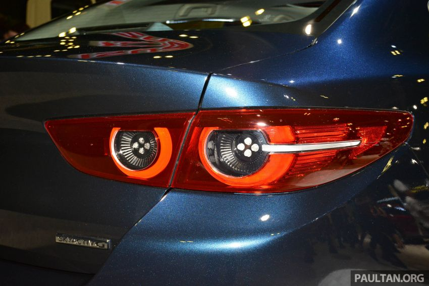 2019 Mazda 3 gets previewed at Singapore Motor Show Image #908772
