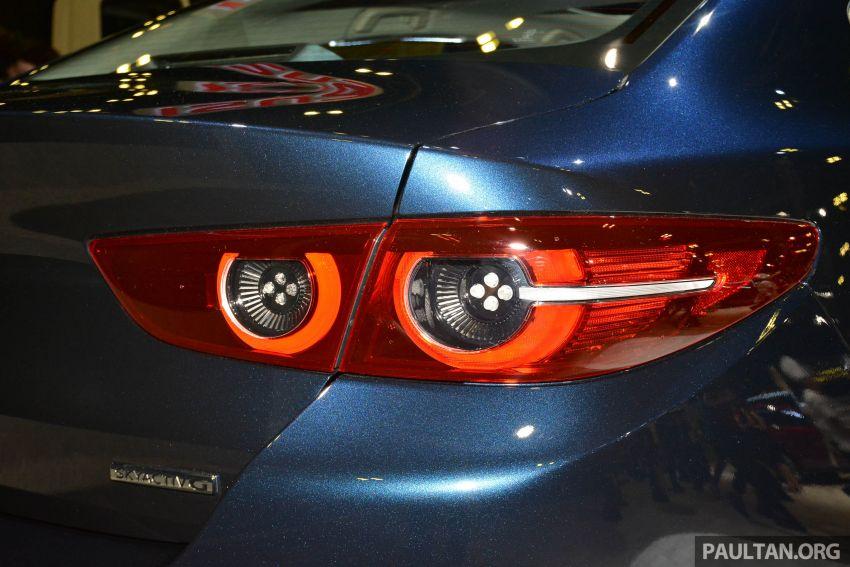 Mazda 3 2019 tampil di Singapore Motor Show Image #908855