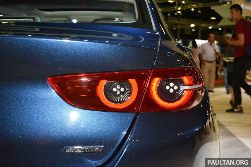 2019 Mazda 3 gets previewed at Singapore Motor Show Image #908773