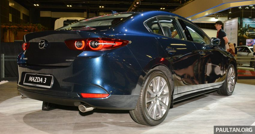 2019 Mazda 3 gets previewed at Singapore Motor Show Image #908763