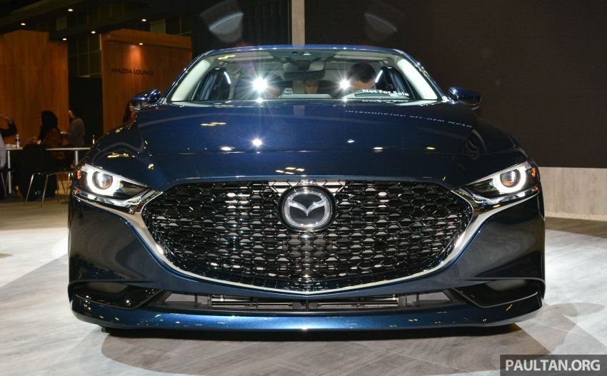 2019 Mazda 3 gets previewed at Singapore Motor Show Image #908764