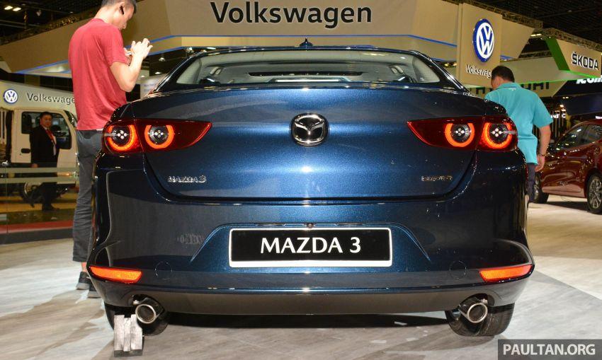 Mazda 3 2019 tampil di Singapore Motor Show Image #908844