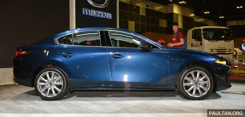 Mazda 3 2019 tampil di Singapore Motor Show Image #908846