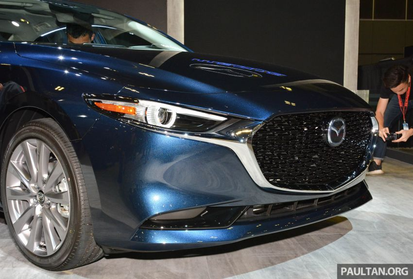 2019 Mazda 3 gets previewed at Singapore Motor Show Image #908767
