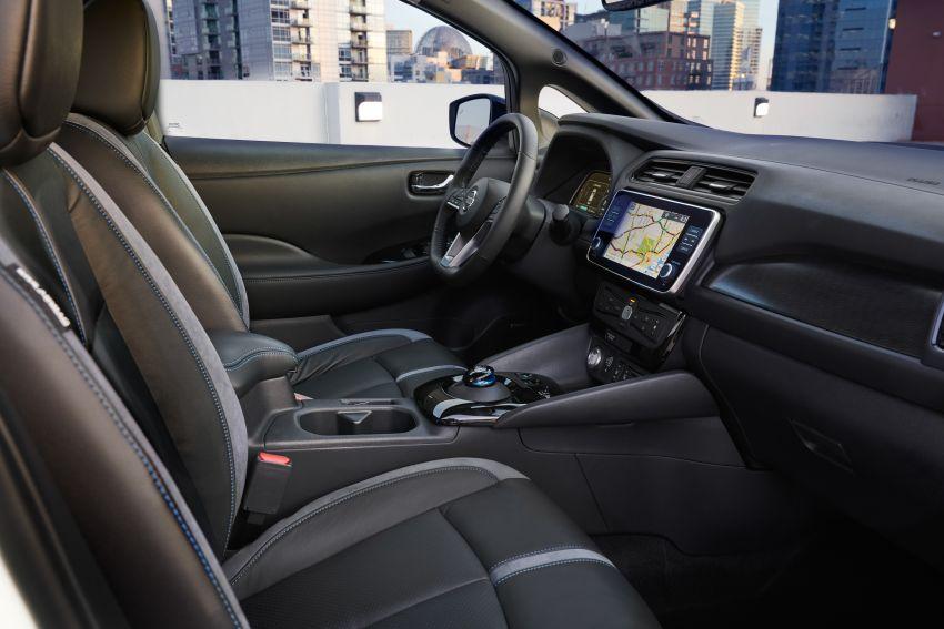 Nissan Leaf e+ baharu – bateri 62 kWh, kuasa 215 hp, boleh gerak 40% lebih jauh, laju maksimum naik 10% Image #908332