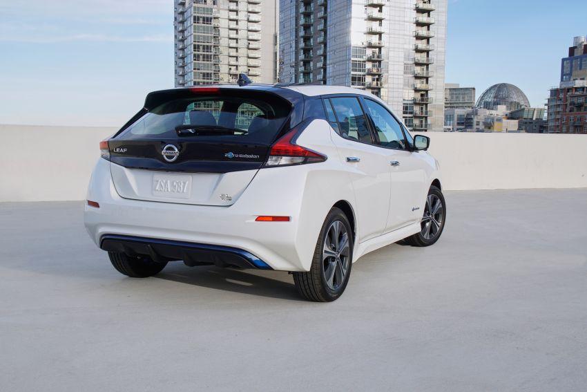 Nissan Leaf e+ baharu – bateri 62 kWh, kuasa 215 hp, boleh gerak 40% lebih jauh, laju maksimum naik 10% Image #908333