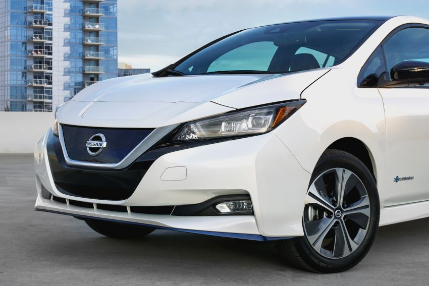 Nissan Leaf e+ baharu – bateri 62 kWh, kuasa 215 hp, boleh gerak 40% lebih jauh, laju maksimum naik 10% Image #908340