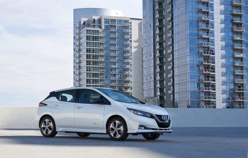 Nissan Leaf e+ baharu – bateri 62 kWh, kuasa 215 hp, boleh gerak 40% lebih jauh, laju maksimum naik 10% Image #908318