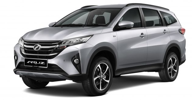 2019 Perodua Aruz SUV launched in Malaysia - from RM72,900