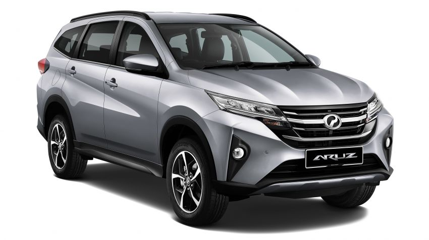 2019 Perodua Aruz SUV launched in Malaysia – seven seats; ASA 2.0; two variants; RM72,900 and RM77,900 Image #910930