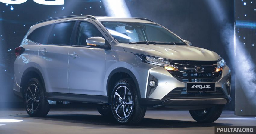 2019 Perodua Aruz SUV launched in Malaysia – seven seats; ASA 2.0; two variants; RM72,900 and RM77,900 Image #911136