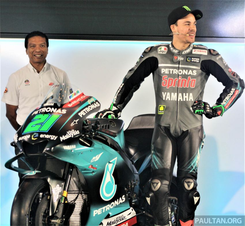 2019 Petronas Yamaha Sepang Racing Team launch Image #917187