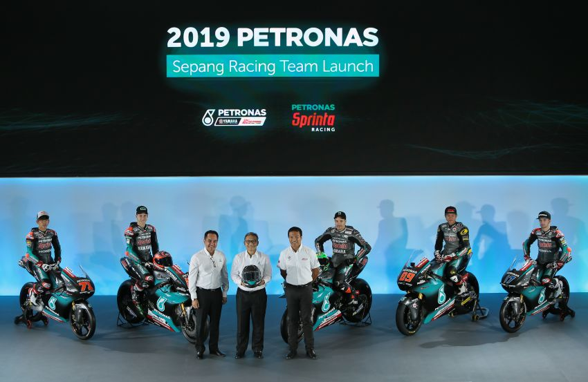 2019 Petronas Yamaha Sepang Racing Team launch Image #917200