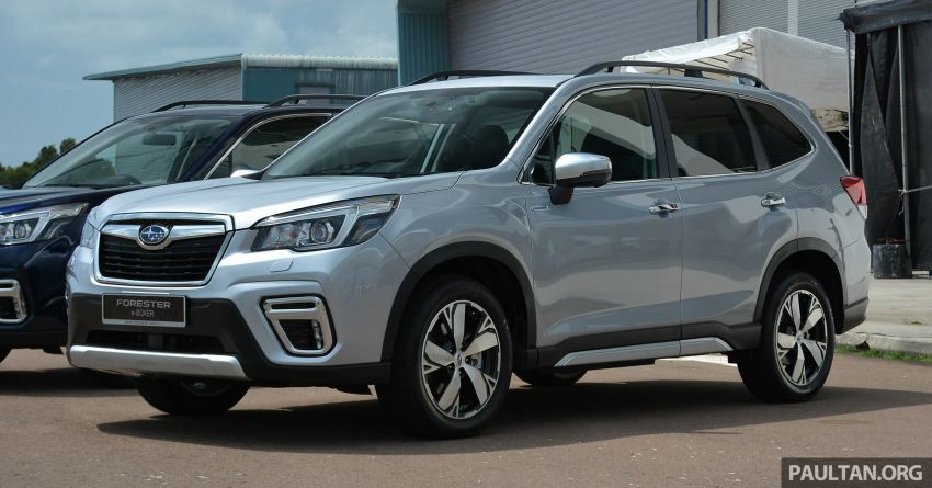 2019 Subaru Forester e-Boxer previewed in Singapore Image #908512