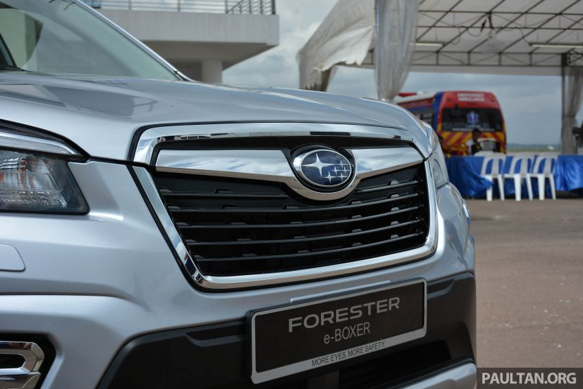 2019 Subaru Forester e-Boxer previewed in Singapore Image #908521