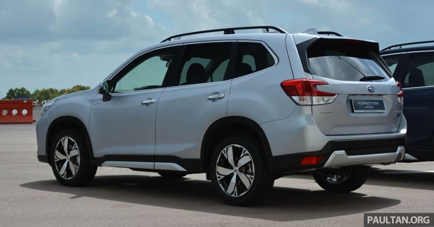 2019 Subaru Forester e-Boxer previewed in Singapore Image #908513