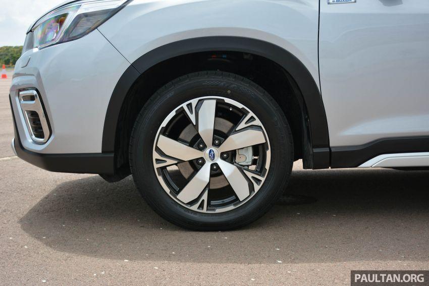 Subaru Forester e-Boxer 2019 tampil di Singapura Image #908682