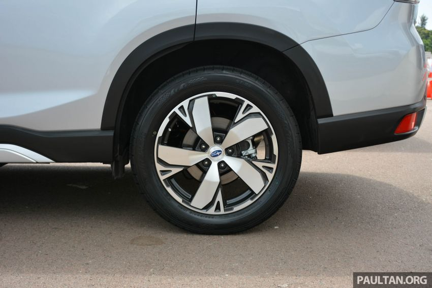 2019 Subaru Forester e-Boxer previewed in Singapore Image #908533