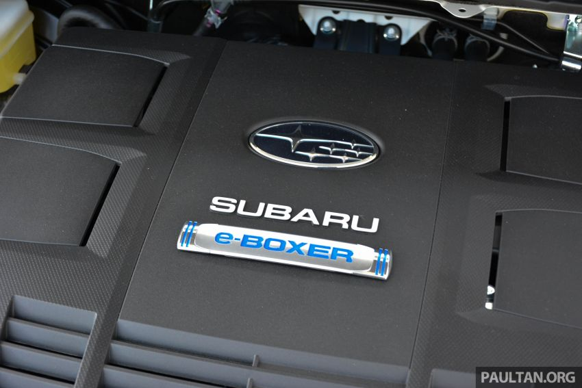2019 Subaru Forester e-Boxer previewed in Singapore Image #908537