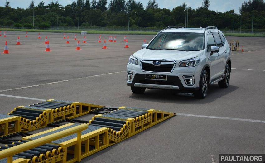 Subaru Forester e-Boxer 2019 tampil di Singapura Image #908688