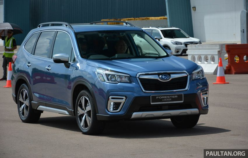 2019 Subaru Forester e-Boxer previewed in Singapore Image #908540