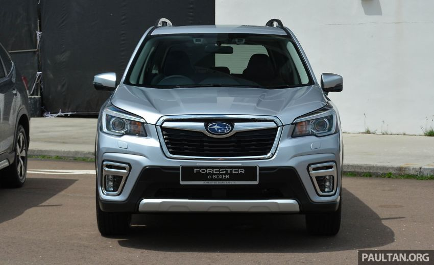 2019 Subaru Forester e-Boxer previewed in Singapore Image #908514