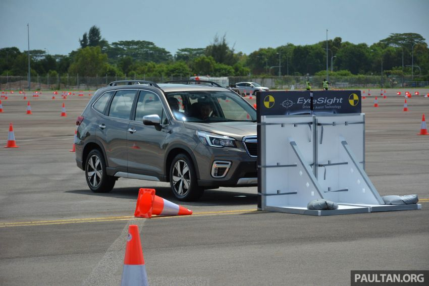 2019 Subaru Forester e-Boxer previewed in Singapore Image #908541