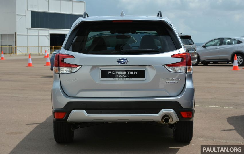 2019 Subaru Forester e-Boxer previewed in Singapore Image #908515