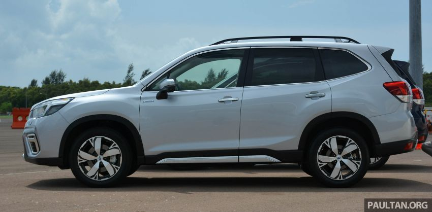 2019 Subaru Forester e-Boxer previewed in Singapore Image #908516
