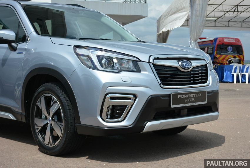 2019 Subaru Forester e-Boxer previewed in Singapore Image #908517