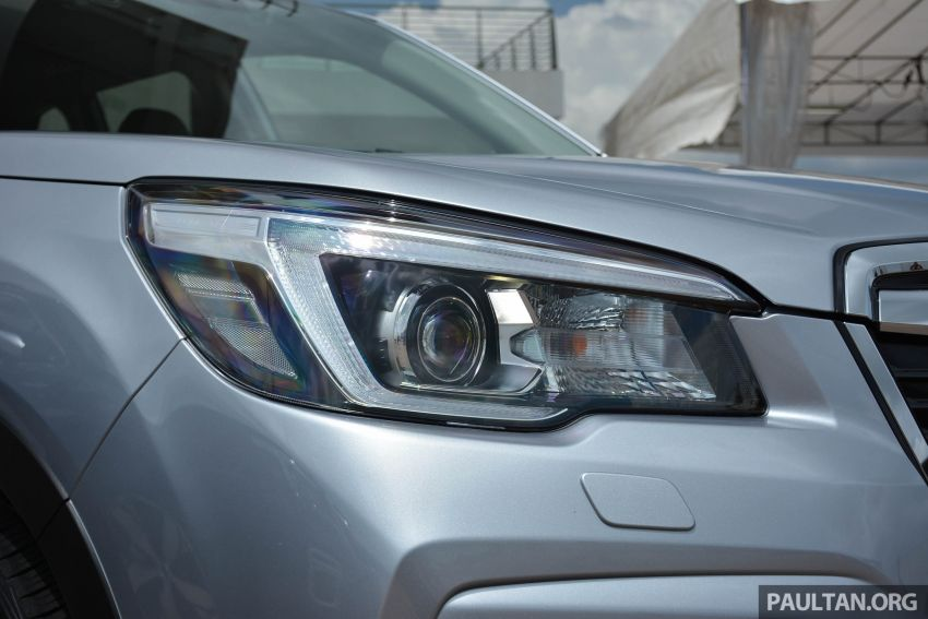 2019 Subaru Forester e-Boxer previewed in Singapore Image #908518