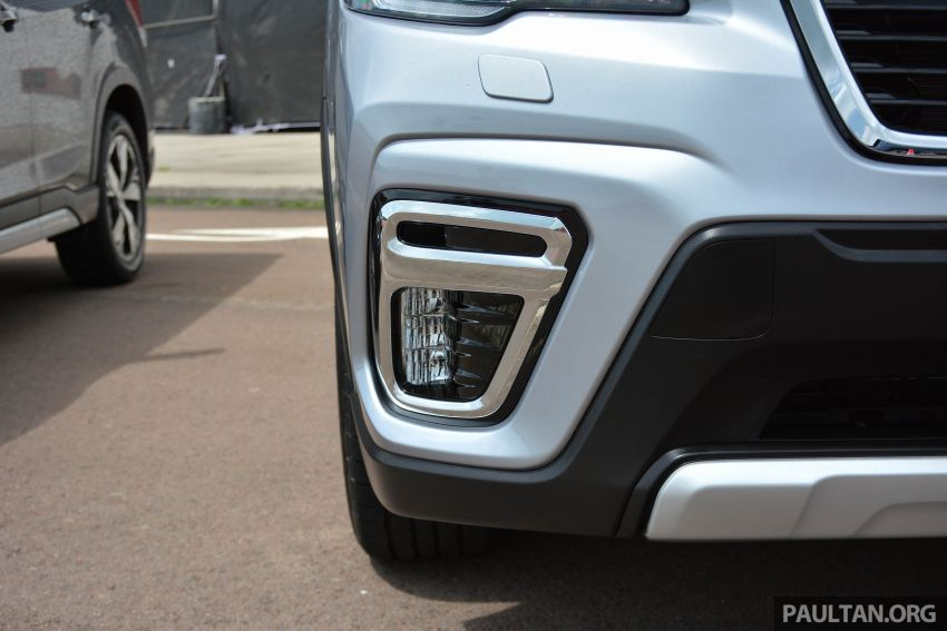 2019 Subaru Forester e-Boxer previewed in Singapore Image #908520