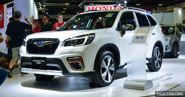 2019 Subaru Forester e-Boxer previewed in Singapore