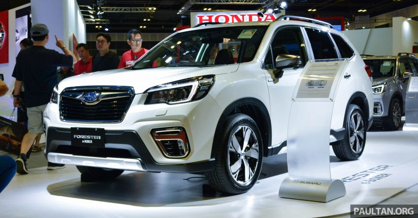2019 Subaru Forester e-Boxer previewed in Singapore Image #909518