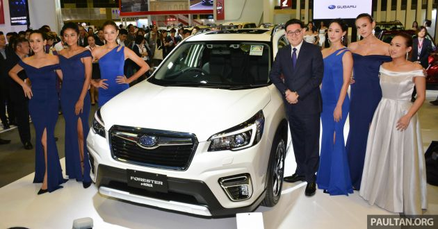 2019 Subaru Forester E Boxer Previewed In Singapore