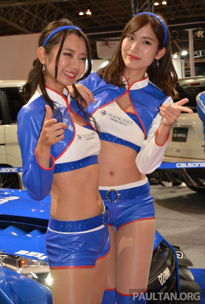 TAS 2019: <em>Kawaii</em> showgirls wrap up our mega inaugural Tokyo Auto Salon live coverage Image #916296